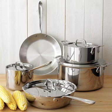 All-Clad Stainless-Steel cookware