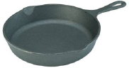 a cast-iron skillet