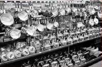 massive shop display of cookware