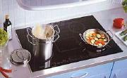 typical modern induction cooktop