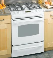 A Typical Cooktop Oven Range